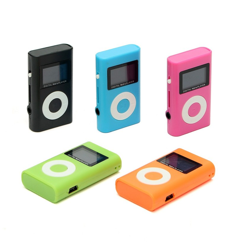 Mini USB MP3 Music Media Player LCD Screen Support 32GB Micro SD TF Card Slot (Color: Blue) фото
