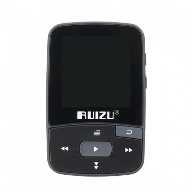Ruizu X50 Sport Clip Bluetooth MP3 Music Player Support TF Card FM Radio Recording E-book Pedometer