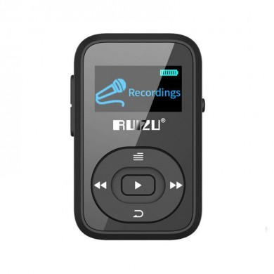 Ruizu X26 Clip Bluetooth 8GB Sport MP3 Music Player Voice Recorder FM Radio Support TF Card