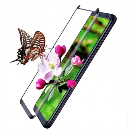 GLASS-M 3D Curved Tempered Glass Screen Protector For Samsung S8
