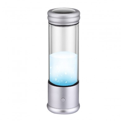 AUGIENB USB Rechargeable Hy-drogen-rich Water Bottle Micro-electrolysis Negative Ion Water Cup High-concentration Small Molecule