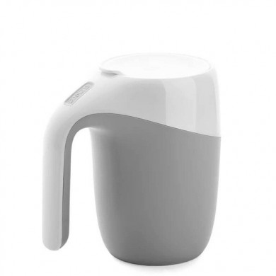 400ml Magic Sucker Mug Not Pouring Cup Suction Mug Office Mug Thermos Vacuum Cup With Cover Water Cup Coffee Mug Water Bottle