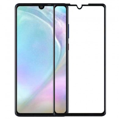 Bakeey™ Full Cover 5D Curved Anti-explosion HD Clear Tempered Glass Front Screen Protector for Huawei P30