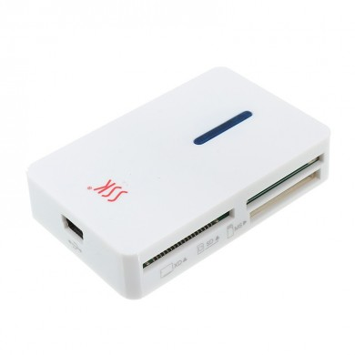 SSK SCRM016 All-in-one USB 2.0 M2 SD TF CF XD Memory Card Reader