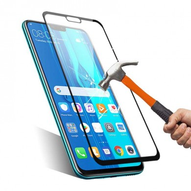 BAKEEY Anti-Explosion Full Cover Full Gule Tempered Glass Screen Protector for Huawei Y9 2019