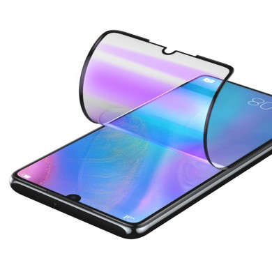Baseus 2PCS 0.15mm Full-cover Curved High Definition Anti-explosion Soft Screen Protector For Huawei P30