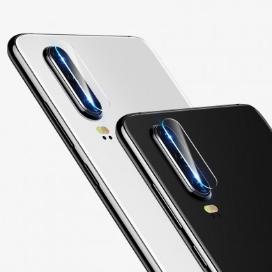 Cafele 2PCS Diamand Anti-scratch HD Clear Tempered Glass Phone Camera Lens Protector for Huawei P30