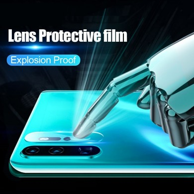 Cafele 2PCS Diamand Anti-scratch HD Clear Tempered Glass Phone Camera Lens Protector for Huawei P30 Pro
