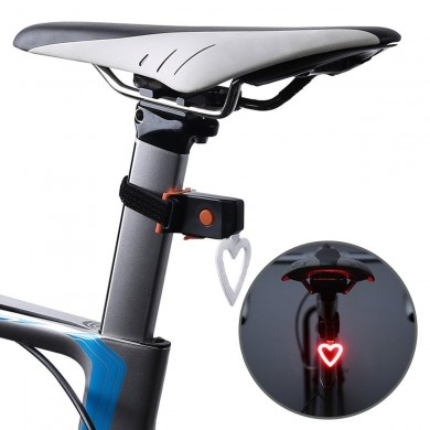 BIKIGHT Bike Bicycle Tail Light 5 Modes USB Rechargeable Waterproof  LED Cycling Rear Back Taillight