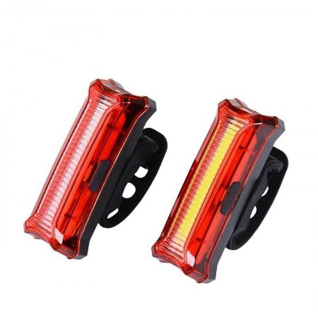XANES® TL29 COB Bike Tail Light USB Rechargeable Warning Night Light Bicycle Cycling Lamp