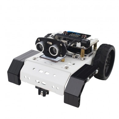LOBOT Micro:bit GoGobit Smart Programmable Tracking Voice PC APP Control RC Robot Car