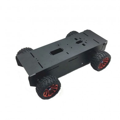DIY A-11 4WD Aluminous Smart Car Chassis RC Robot Car Parts With Motor For Arduino Raspberry Pi