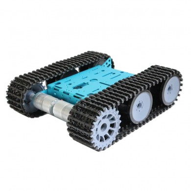DIY Smart RC Robot Car Metal Chassis Tracked Tank Chassis With GM325-31 Gear Motor For Arduino