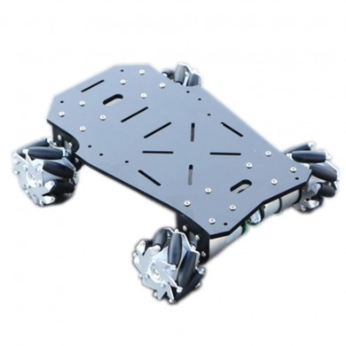DIY 4WD Smart RC Robot Car Chassis Base With Mecanum Wheels