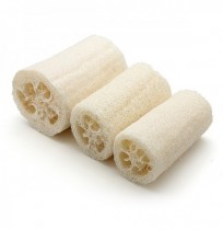 Natural Loofah Shower Wash Body Sponge Scrubber Spa