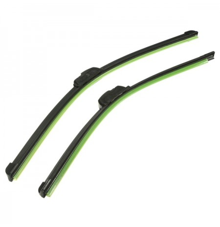 Par 21 polegadas 19 polegadas J-Hook Car Wind Shield Wiper Blade Bracketless Black Universal