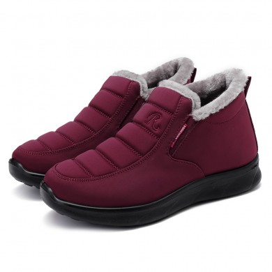 Women Winter Shoes Solid Color Snow Boots