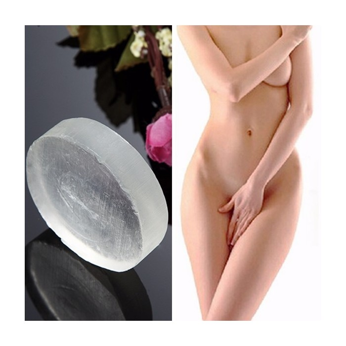 Crystal Handmade Private Pflege Seife Active Ferment Whitening Perineum Achselhöhle Geruch Melanin Remover