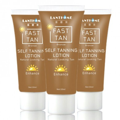 Sun Tanning Fast Tan Enhancer Beauty Black Body Cream Bronzer Lotion Natural Looking Enhance 50ml