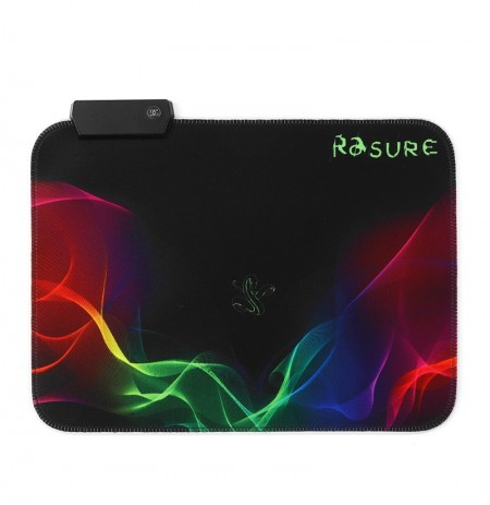 The paint design USB Wired RGB Colorful Backlit LED Mouse Pad for Gaming Mouse