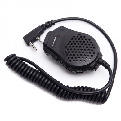 Baofeng Speaker Ultra-small Mini Portable Micrófono Handheld Micrófono Pequeño para Kenwood BAOFENG UV-82 Walkie Talkie Radio