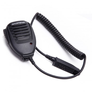 BAOFENG Microphone Handheld Speaker Mic for BAOFENG A58 BF-9700 UV-9R R760 82WP Waterproof Walkie Talkie