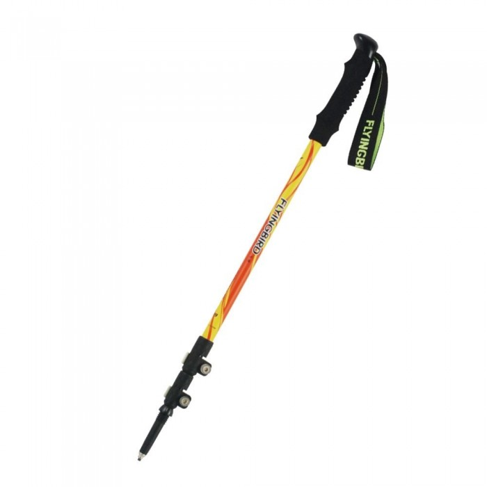 FLYINGBIRD F89 Carbon Fiber Alpenstocks Ultralight Telescopic Adjustable Lock Climbing Hiking Sticks