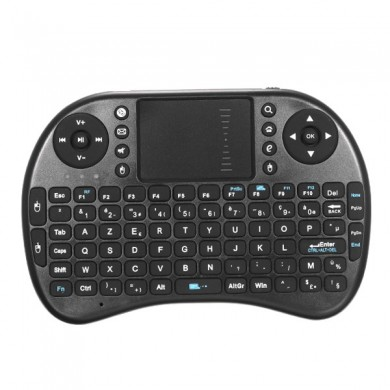 iPazzport Mini 2.4G França Layout Wireless Keyboard Touchpad Mouse para Android TV Tablet