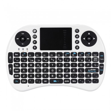 iPazzport Mini 2.4G Spanish Layout Wireless Keyboard Touchpad Mouse For Android TV Tablet