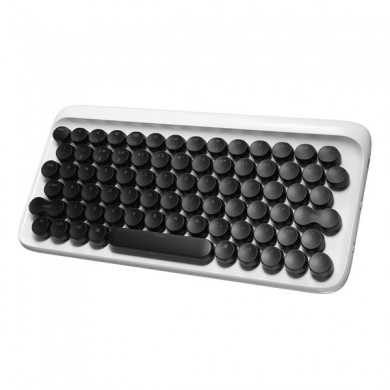 Universal Dot Wireless 78 Key Bluetooth Mecânico Teclado Backlit Typewriter