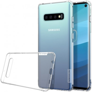 NILLKIN Transparent Shockproof Anti-slip Soft TPU Back Cover Protective Case for Samsung Galaxy S10