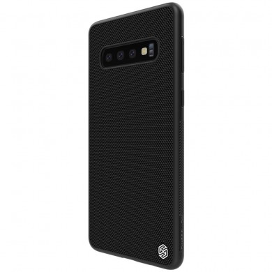 NILLKIN 3D Textured Pattern Shockproof TPU + PC Back Cover Protective Case for Samsung Galaxy S10