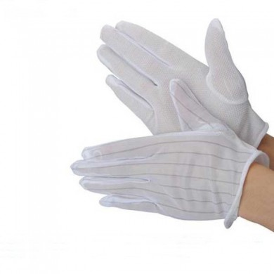 10 X ESD PC Computer Working Anti-static Anti Skid Gloves