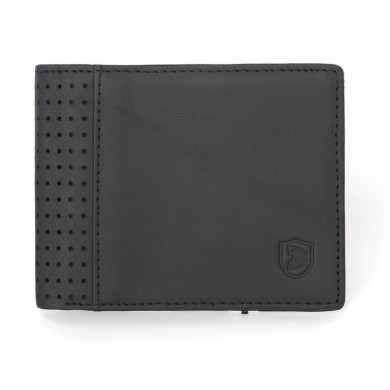 Men Leisure Bifold Anti-theft Coin Holder short Wallet
