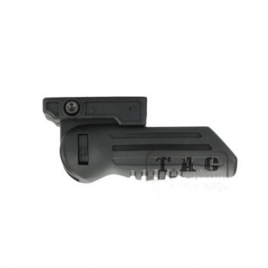 AURKTECH Military Simple Tactical Folding Vertical Forward Foregrip Hand Grip for 20mm Rail Mount