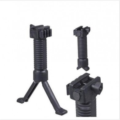 Military Simple Tactical RIS Vorgriff Bipod Pod Picattinny Weaver Rail Foregrip für 20mm Rail Shaft