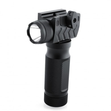 West Lake Tactical 20mm Rail Vertical with High Power LED Flashlight Steel Aluminum