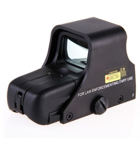 AURKTECH Hunting HD551 Tactical 1X22mm Airsoft Green Red Dot Reflex Sight With 4 Type Reticle