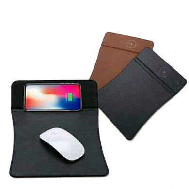 Qi Mouse pad ricarica veloce senza fili per iPhone X/8/8 Plus/Samsung Galaxy S9/S9 Plus/Note 8/Huawei