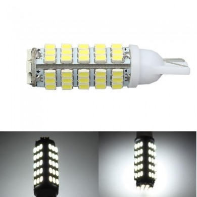 T10 1206 68SMD W5W LED Car Interior Reading Light Side Wedge Lamp Marker Bulb License Plate Light