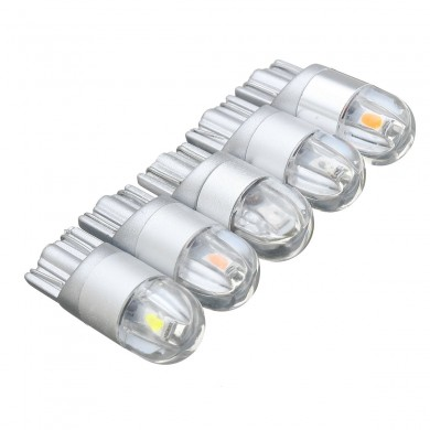 12V T10 168 194 5W LED Lâmpadas Interior do carro Luminária Luminária lateral Super Bright