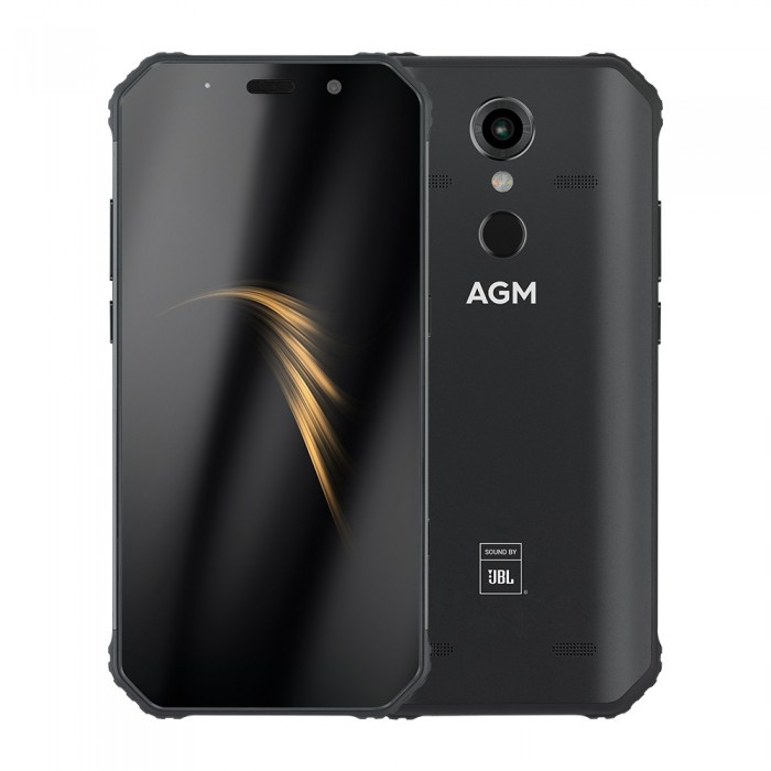 AGM A9 5.99 inch 5400mAh 16MP Front Camera NFC IP68 Waterproof 4GB 64GB Snapdragon 450 Octa Core 4G Smartphone