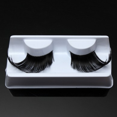Schwarz übertrieben Winged False Wimpern Bühneneffekt Party Voluminous Thick Artificial