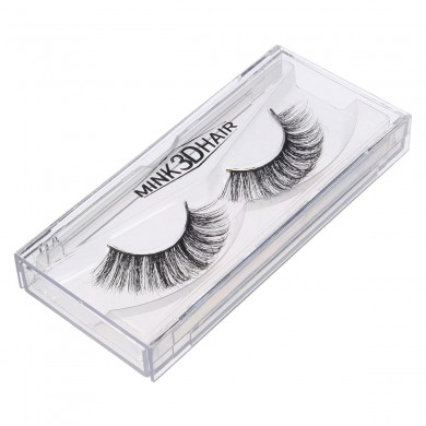 3D Faux cils Thick Mink Fake Eye Lashes Voluminous Maquillage Cosmétique