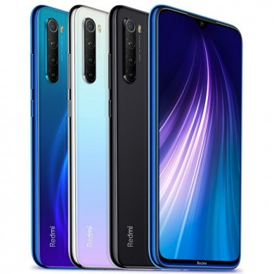 Xiaomi Redmi Note 8 6,3 polegadas 48MP Quad Rear Camera 4GB 64GB 4000mAh Snapdragon 665 Octa core 4G Smartphone