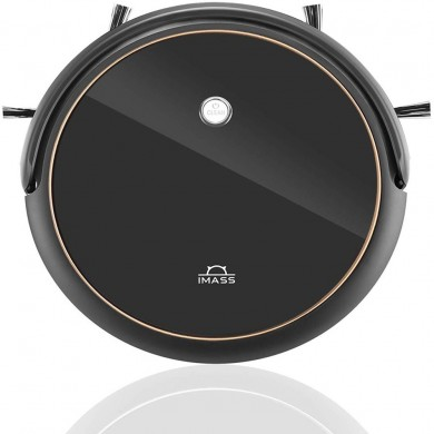 IMASS A3 Robot Vacuum Cleaner with Smart Path Planning 1400pa Suction Ultra-Thin Body for Pet Hair Care, Hard Floors and Low Pil