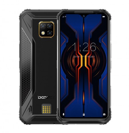 DOOGEE S95 Pro Global Bands IP68 Waterproof 6.3 inch FHD+ NFC Android 9.0 5150mAh 48MP AI Triple Rear Cameras 8GB RAM 128GB ROM