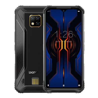 DOOGEE S95 Pro Super Bundle Global Bands IP68 Waterproof 6.3 inch FHD+ NFC Android 9.0 5150mAh 48MP AI Triple Rear Cameras 8GB R