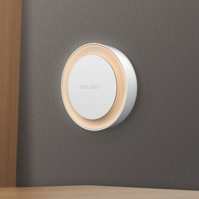 Yeelight YLYD10YL Round Light-controlled Sensor Night Light Ultra-Low Power Consumption AC220V (Xiaomi Ecosystem Product)