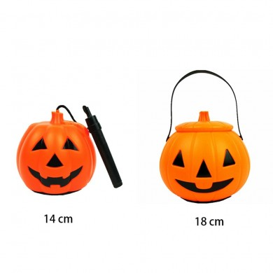 Halloween LED Girar Pendurado Lanterna de Abóbora de Halloween Night Light Festival Gift Kids Home Party Decor